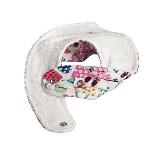 Βρεφική Σαλιάρα-Μπαντάνα με μοτίβο Girls Accessories
