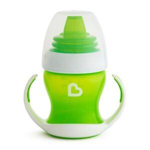 εκπαιδευτικο ποτηρακι first cup πρασινο Munchkin