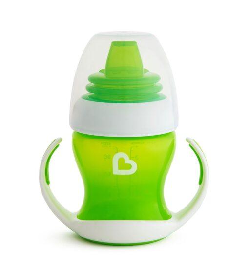 Munchkin Ποτηράκι Εκπαιδευτικό Gentle First Cup Πράσινο