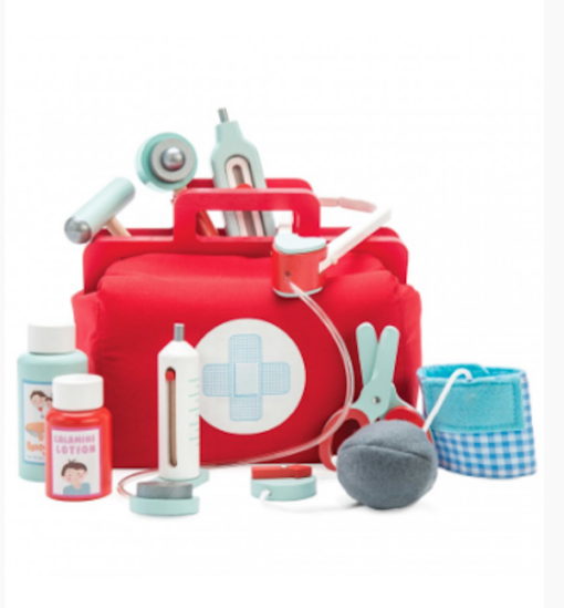 Le toy Van βαλιτσάκι ιατρού vintage