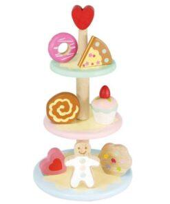 Le toy Van οικολογικό ξύλινo σταντ με γλυκά