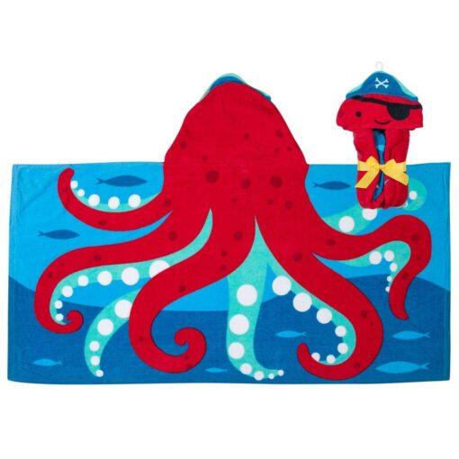 Stephen Joseph Παιδική πετσέτα με κουκούλα Χταποδακι