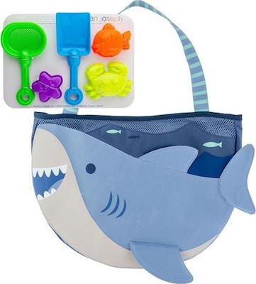 Stephen Josheph Τσαντούλα παραλίας Shark με παιχνιδάκια