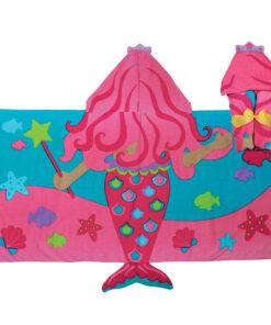 Παιδική πετσέτα με κουκουλα γοργόνα Stephen Joseph