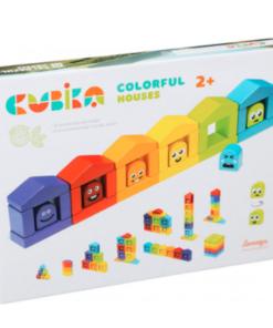 Cubika Ξύλινο Παιχνίδι Συναισθήματα με χρώματα