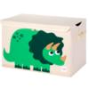 3 sprouts καλάθι για παιχνίδια με καπάκι Δεινόσαυρος