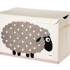 3 sprouts καλάθι για παιχνίδια με καπάκι Πρόβατο