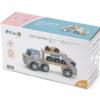 Polar B ξύλινο φορτηγό με αυτοκινητάκια