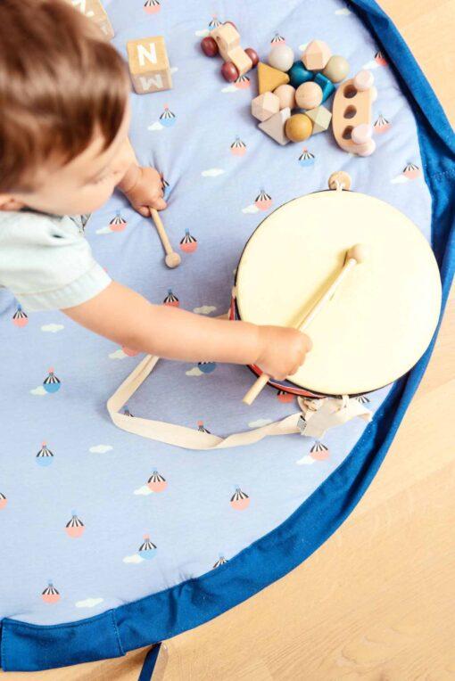 PLAY&GO Στρώμα παιχνιδιού μαλακό τσάντα 2 σε 1 Αερόστατο
