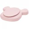 Lassig πιάτο με βεντούζα από σιλικόνη ροζ