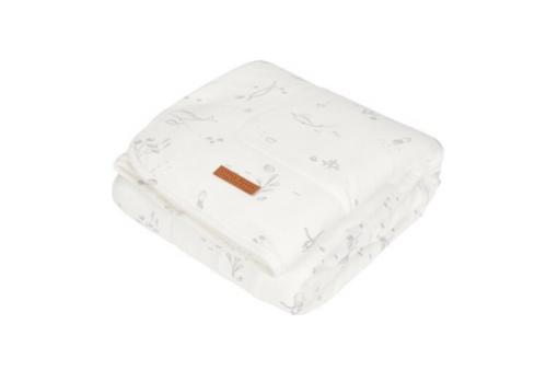 Little Dutch Κουβέρτα Κούνιας Ocean White 110x140
