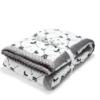 La Millou κουβέρτα XLPARENT'S EDITION ROYAL ARROWS GREY