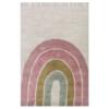LITTLE DUTCH Παιδικό Χαλί δωματίου Rainbow Pink 90X130