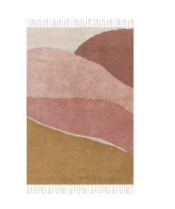 LITTLE DUTCH Παιδικό Χαλί δωματίου Horizon Pink 90X130