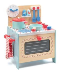 Djeco Retro Ξύλινη κουζίνα μπλε