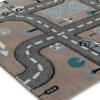 Παιδικό χαλί On the road 80Χ150