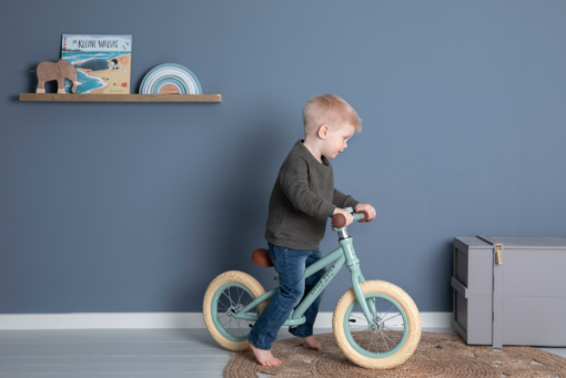 LITTLE DUTCH Μεταλλικό ποδήλατο ισορροπίας μέντα