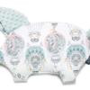 La Millou μαξιλάρι νεογέννητου & παρηγοριάς SLEEPY PIG CAPPADOCIA DREAM SMOKE MINT