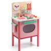 Djeco Ηλεκτρική Κουζίνα ρόλου ροζ με ψηλά πόδια