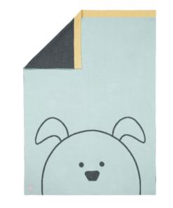 Lassig πλεκτή βαμβακερή κουβέρτα καροτσιού και αγκαλιάς
