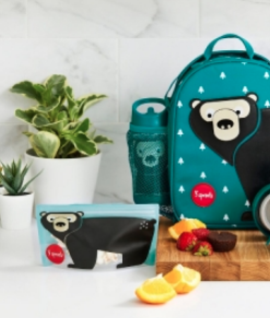 3 Sprouts Ισοθερμική τσάντα Bear