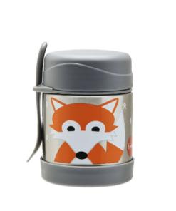 3 Sprouts ανοξείδωτο θερμός φαγητού Fox
