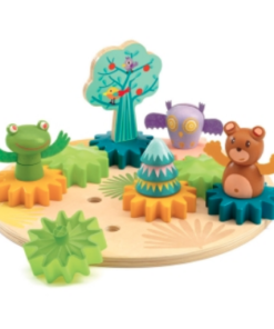 Djeco Παιχνίδι ταξινόμησης με γρανάζια κίνησης Ζωάκια στο δάσος