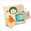 Djeco Eκπαιδευτικό Παιχνίδι Μαθαίνω να ανοιγοκλείνω κλειδαριές Ζωάκια