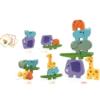 Djeco Ξύλινο παιχνίδι Ισορροπίας Πυραμίδα Ζωάκια με κάρτες