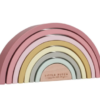 LITTLE DUTCH Ξύλινο τρισδιάστατο Ουράνιο Τόξο new pink