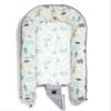 La Millou Προστατευτική Φωλιά ύπνου BABY NEST DUNDEE & FRIENDS BLUE GREY