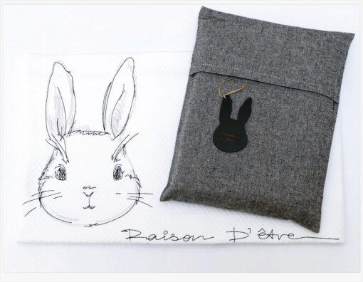 Bunny βαμβακερή κουβέρτα κρεβατιου XL