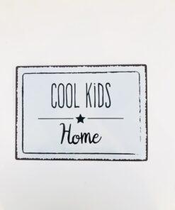Πινακίδα για το βρεφικό δωμάτιο Cool Kids