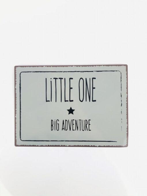 Πινακίδα για το βρεφικό δωμάτιο Little One