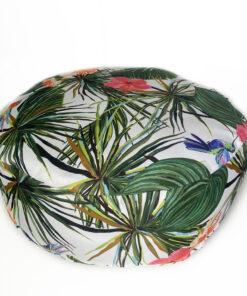 Μαλακό πουφ Exotic green