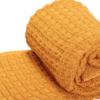 The Nest πλεκτή κουβέρτα καροτσιού αγκαλιάςStroke Honey