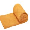 Greta & Bo πλεκτή κουβέρτα καροτσιού αγκαλιάςDiagonal Honey