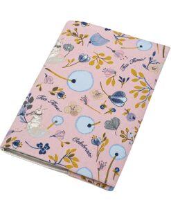 Υφασμάτινη Θήκη βιβλιαρίου Celebrate Pink