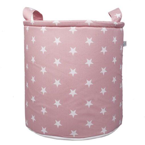 Σάκος αποθήκευσης παιχνιδιών Stars in Pink