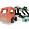 GERARDOS Ξύλινο φορτηγό με αυτοκινητάκια