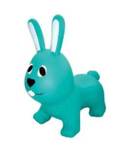 GERARDOS JUMPY Φουσκωτά ζωάκια Λαγουδάκι γαλαζοπράσινο