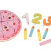 GERARDOS Ξύλινη τούρτα γενεθλίων με κεράκια