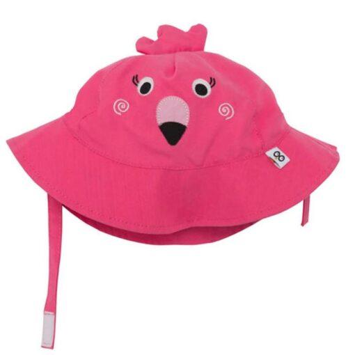 Zoocchini Αντηλιακό Καπέλο UPF50+ Φλαμίγκο