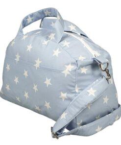 Τσάντα αλλαγής με μοτίβο Αστερακια σιελ