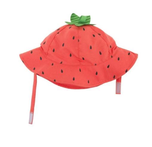 Zoocchini Αντηλιακό Καπέλο UPF50+ Φράουλα