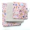 Βρεφικά σεντόνια με μαξιλαροθήκη In dusty pink