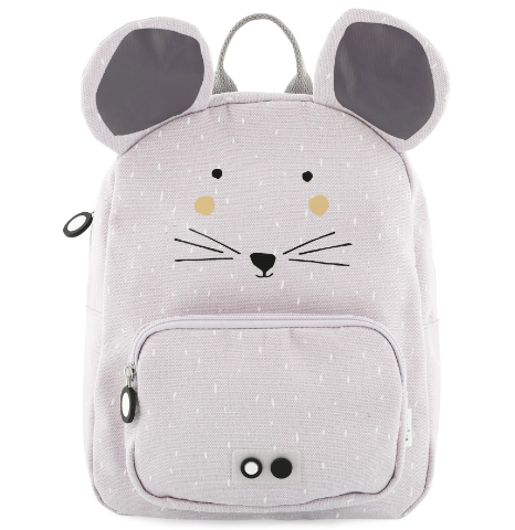 Αδιάβροχο παιδικό σακίδιο πλάτης Trixie Mrs Mouse