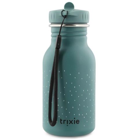 Το μπουκάλι της Trixie από ανοξοίδωτο ατσάλι αποτελεί την τέλεια, ανθεκτική εναλλακτική λύση έναντι των πλαστικών μπουκαλιών μίας χρήσης. Με μια μεγάλη ποικιλία από ζωάκια, κάθε παιδί θα βρει τον αγαπημένο του φίλο και σύντροφο για πολλές περιπέτειες. Είναι ελαφύ και ανθεκτικό σε οποιαδήποτε κρούση και δεν απελευθερώνει τοξικές ουσίες στο νερό. Ο κομψός του σχεδιασμός το καθιστά παράλληλα εύκολο στον καθαρισμό. Πλύνετε με σαπούνι και νερό για να μεγιστοποιήσετε τη διάρκεια ζωής του μπουκαλιού. Το καπάκι έχει σχεδιαστεί λαμβάνοντας υπόψη τις ανάγκες των μικρών παιδιών και μπορούν εύκολα να το ανοιγοκλείσουν λόγω της λαβής-στομίου στην κορυφή.