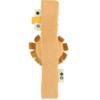 Βρεφική κουδουνίστρα βραχιολάκι Trixie Mr Lion