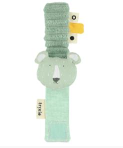 Βρεφική κουδουνίστρα βραχιολάκι Trixie Polar Bear